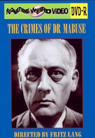 CRIMES OF DR. MABUSE - DVD-R