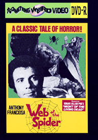 WEB OF THE SPIDER - DVD-R