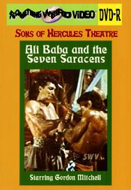 ALI BABA AND THE 7 SARACENS - DVD-R