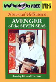 AVENGER OF THE 7 SEAS - DVD-R