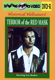 TERROR OF THE RED MASK - DVD-R