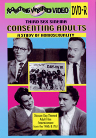 CONSENTING ADULTS: A Study of Homosexuality - DVD-R