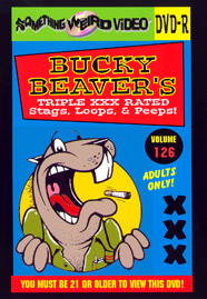BUCKY BEAVER'S STAGS LOOPS AND PEEPS VOL 126 - DVD-R