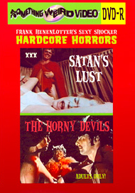 Sexy Shocker Hardcore Horrors Vol 03: THE HORNY DEVILS / SATAN'S LUST - DVD-R