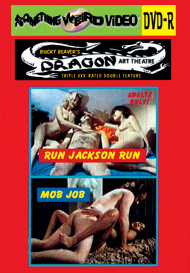 DRAGON ART THEATRE DOUBLE FEATURE VOL 022: RUN JACKSON RUN / MOB JOB - DVD-R