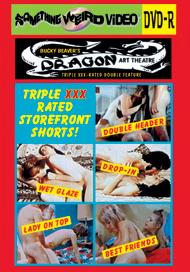 DRAGON ART THEATRE DOUBLE FEATURE VOL 025: XXX RATED STOREFRONT SHORTS - DVD-R