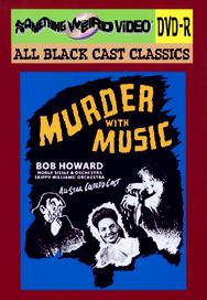 MURDER WITH MUSIC - DVD-R