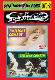 DRAGON ART THEATRE DOUBLE FEATURE VOL 031: TWILIGHT COWBOY / RED MAN COMETH - DVD-R