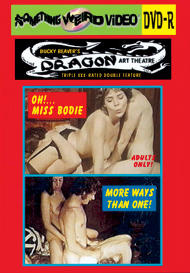 DRAGON ART THEATRE DOUBLE FEATURE VOL 032: OH!... MISS BODIE /  MORE WAYS THAN ONE - DVD-R