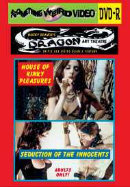 DRAGON ART THEATRE DOUBLE FEATURE VOL 040: HOUSE OF KINKY PLEASURES / SEDUCTION OF THE INNOCENTS - DVD-R