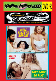 DRAGON ART THEATRE DOUBLE FEATURE VOL 043: MISS KINSEY'S REPORT / THEY CAME TO PLAY - DVD-R