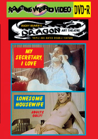 DRAGON ART THEATRE DOUBLE FEATURE VOL 056: MY SECRETARY, I LOVE / LONESOME HOUSEWIFE - DVD-R
