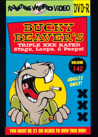 BUCKY BEAVER'S STAGS LOOPS AND PEEPS VOL 142 - DVD-R