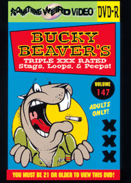BUCKY BEAVER'S STAGS LOOPS AND PEEPS VOL 147 - DVD-R