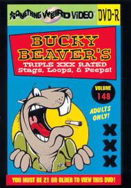 BUCKY BEAVER'S STAGS LOOPS AND PEEPS VOL 148 - DVD-R