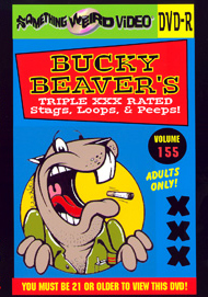 BUCKY BEAVER'S STAGS LOOPS AND PEEPS VOL 155 - DVD-R