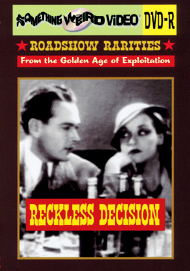 RECKLESS DECISION - DVD-R
