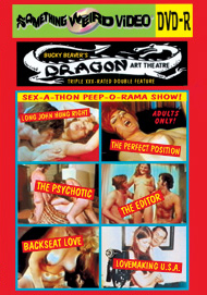 DRAGON ART THEATRE DOUBLE FEATURE VOL 100: SEX-A-THON PEEP-O-RAMA SHOW TRIPLE XXX STOREFRONT SHORTS - DVD-R