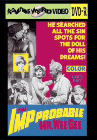 IMP-PROBABLE MR. WEEGEE - DVD-R