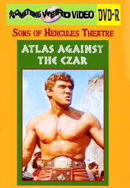 ATLAS AGAINST THE CZAR - DVD-R