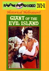GIANT OF EVIL ISLAND, THE - DVD-R