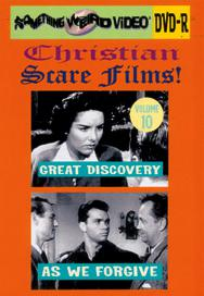 CHRISTIAN SCARE FILMS VOL 10 - DVD-R