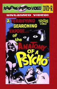 ANATOMY OF A PSYCHO - DVD-R