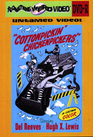 COTTON PICKIN' CHICKEN PICKERS - DVD-R