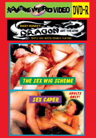 DRAGON ART THEATRE DOUBLE FEATURE VOL 130: SEX WIG SCHEME / SEX CAPER - DVD-R