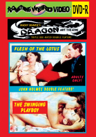 DRAGON ART THEATRE DOUBLE FEATURE VOL 149: FLESH OF THE LOTUS / THE SWINGING PLAYBOY - DVD-R