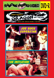 DRAGON ART THEATRE DOUBLE FEATURE VOL 156: JOE ROCK SUPERSTAR / THE INITIATION - DVD-R