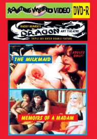 DRAGON ART THEATRE DOUBLE FEATURE VOL 161: THE MILKMAID / MEMOIRES OF A MADAM - DVD-R