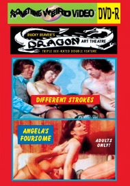 DRAGON ART THEATRE DOUBLE FEATURE VOL 167: DIFFERENT STROKES / ANGELA'S FOURSOME - DVD-R