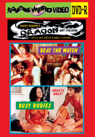 DRAGON ART THEATRE DOUBLE FEATURE VOL 180: BEAT THE WATCH / BUSY BODIES - DVD-R