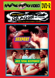 DRAGON ART THEATRE DOUBLE FEATURE VOL 184: THE SEXPERT / HER TOTAL RESPONSE - DVD-R