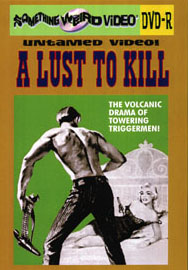 LUST TO KILL - DVD-R