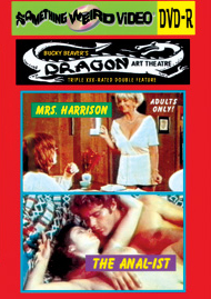 DRAGON ART THEATRE DOUBLE FEATURE VOL 200: MRS. HARRISON / THE ANAL-IST - DVD-R