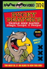BUCKY BEAVER'S STAGS LOOPS AND PEEPS VOL 183 - DVD-R