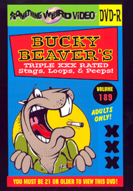 BUCKY BEAVER'S STAGS LOOPS AND PEEPS VOL 189 - DVD-R