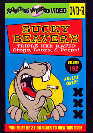 BUCKY BEAVER'S STAGS LOOPS AND PEEPS VOL 192 - DVD-R