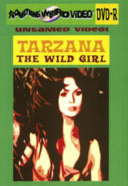 TARZANA THE WILD GIRL - DVD-R