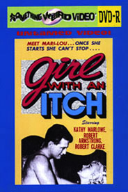 GIRL WITH AN ITCH - DVD-R