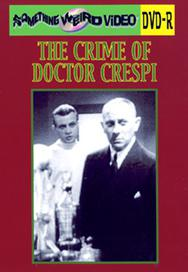 CRIME OF DOCTOR CRESPI - DVD-R