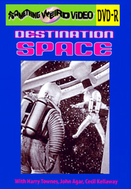 DESTINATION SPACE - DVD-R