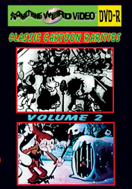 CLASSIC CARTOON RARITIES VOL 02 - DVD-R