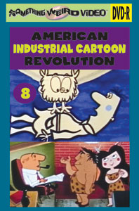 AMERICAN INDUSTRIAL CARTOON REVOLUTION VOL 08 - DVD-R