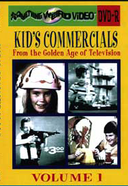 KID'S COMMERCIALS VOL 01 - DVD-R