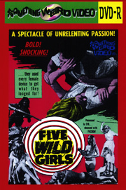 FIVE WILD GIRLS - DVD-R