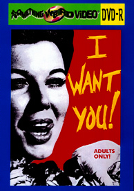 I WANT YOU - DVD-R