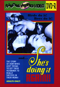 SHE'S DOING IT AGAIN - DVD-R